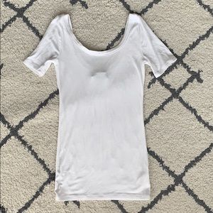 Anthropologie scoop neck knit shirt